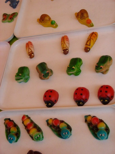 Marzipan critters